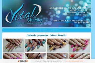 Vital Studio. Solarium i Kosmetyka - Manicure i pedicure Wrocław