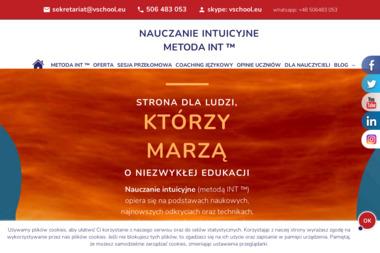 Szkoła Jezykowa VSchool. Coaching Językowy, metoda autorska - Edukacja Online Mysiadło