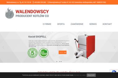 Produkcja Kotłów S.C. Małogorzata i Roman i Mariusz i Tadeusz Walendowscy - Piece Kondensacyjny Gołuchów