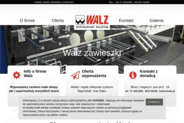 Walz Wyposażenie Sklepów Sp. z o.o. - Regały Paletowe Wrocław