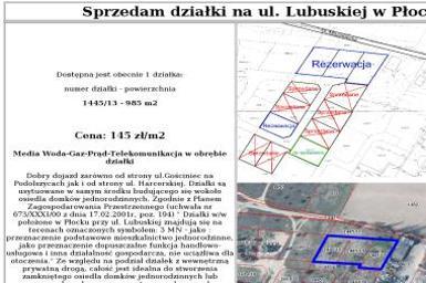 14 działek - Agencja nieruchomości Płock