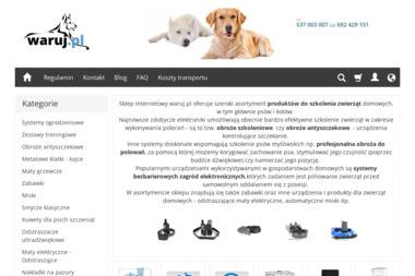 Waruj.pl elektroniczne obroże dla psów, pastuchy tresery - Pranie Tapicerki Meblowej Łódź