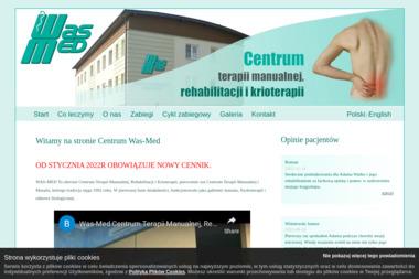 Was med. Klinika Terapii Manualnej Rehabilitacji i Krioterapii Mgr - Rehabilitant Bielsko-Biała