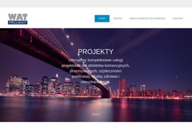Wat Projekt Biuro Projektowe - Projekty Domów Jednorodzinnych Trzebinia