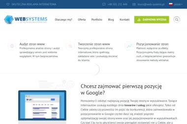 Web Systems Krzysztof Balicki - Optymalizacja Stron Łódź