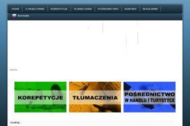 West & East Lingwist. Korepetycje z rosyjskiego, tłumaczenia, pośrednictwo w handlu - Tłumacze Częstochowa