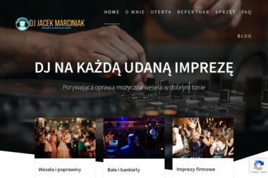 DJ Na Każdą Udaną Imprezę-Jacek Marciniak. Oprawa muzyczna, organizacja imprez - Zespół muzyczny Lublin