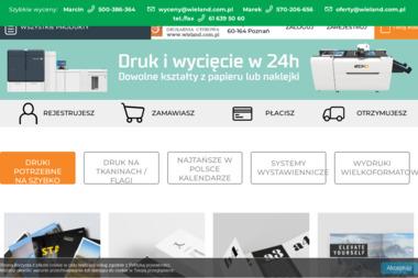 Wieland Drukarnia Cyfrowa - Druk wielkoformatowy Poznań