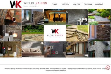 Wielki Kanion-Kamien Naturalny - Kamieniarstwo Kolonia Poczesna