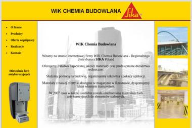 Chemia Budowlana Wik - Żywica na Posadzkę Rzeszów