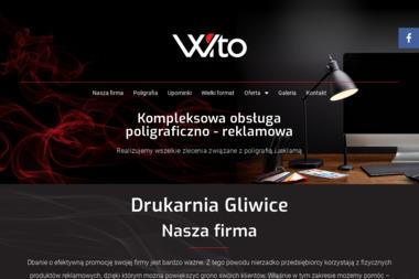 Wito Witold Szumiński. Reklama, poligrafia, gadżety - Kosze prezentowe Gliwice
