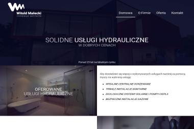 Witold Małecki - Instalacje Sanitarne C.O i Gaz - Kolektory słoneczne Dzierżoniów