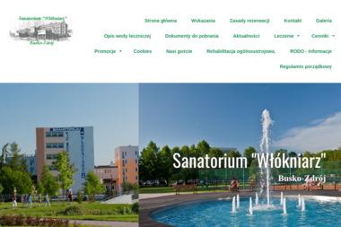 """Sanatorium """"Włókniarz"""" - Sanatoria, uzdrowiska Busko-Zdrój"""