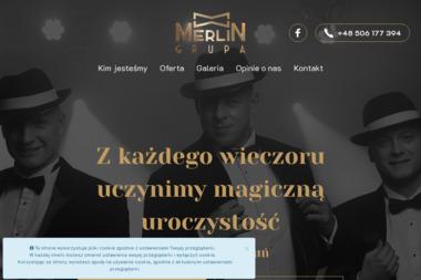 Prezenter Muzyczny, DJ, Wodzirej Merlin - Zespół muzyczny Toruń