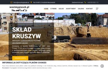PHU Koptrans Wojciech Misiak - Skład budowlany Kozery