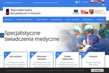 Wojewódzki Szpital Specjalistyczny w Olsztynie - Rehabilitant Olsztyn