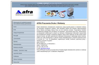 AFRA - Usługi Poligraficzne Wałbrzych