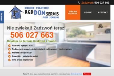 AgdDomSerwis - Naprawa zmywarek Kraków