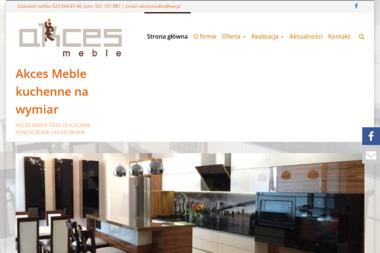 Studio Mebli Akces - Wyposażenie wnętrz Siedlce