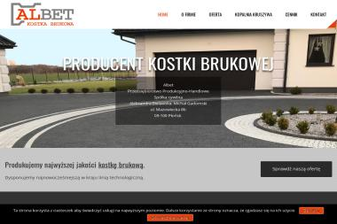 Albet Przedsiębiorstwo Produkcyjno Handlowe S.C. - Kostka betonowa Płońsk