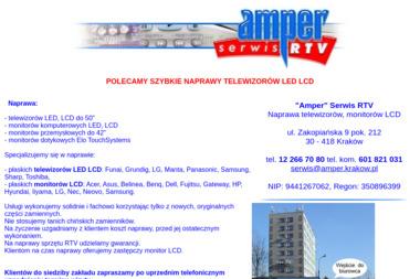 """""""Amper"""" Serwis RTV - Naprawa Telewizorów Kraków"""