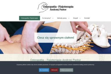 Osteopatia Fizjoterapia mgr Andrzej Pastor D.O. - Kluby sportowe, treningi Bydgoszcz