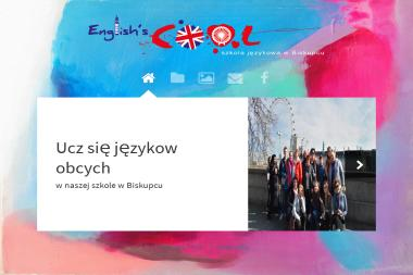 English's COOL - Nauczyciele angielskiego Biskupiec