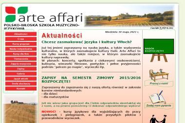 Arte Affari - Szkoła językowa Katowice