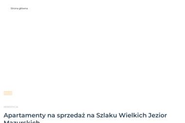 Villa Nautica-Apartamenty na Mazurach - Agencja nieruchomości Rydzewo