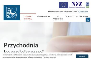 """Przychodnia Kompleksowej Rehabilitacji """"ATLAS"""" - Masaże Relaksacyjne Mielec"""