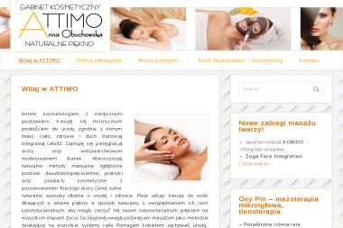 Gabinet kosmetyczny  ATTIMO - Trener personalny Wyszków