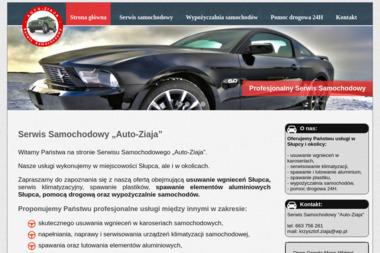 """Serwis Samochodowy """"Auto-Ziaja"""" - Wypożyczalnia samochodów Słupca"""