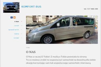 Komfort-Bus - Firma transportowa Bielsko-Biała
