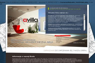 """Pracownia architektoniczna """"AVILLA"""" - Biuro Architektoniczne Pabianice"""