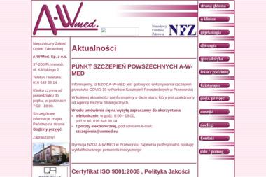 A-W-Med. Sp. z o.o. - Psycholog Przeworsk