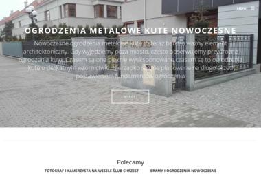 Zakład Ślusarsko - Kowalski - Schody Stalowe Ząbki