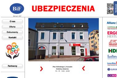 BiF Ubezpieczenia - Ubezpieczenia oc dla Firm Koszalin