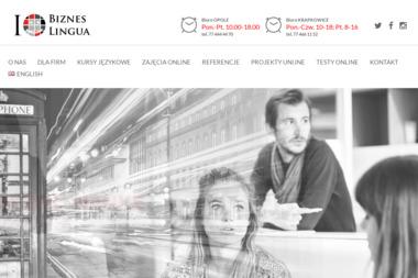 Bizneslingua - Centrum Języków Obcych - Nauczyciele angielskiego Krapkowice
