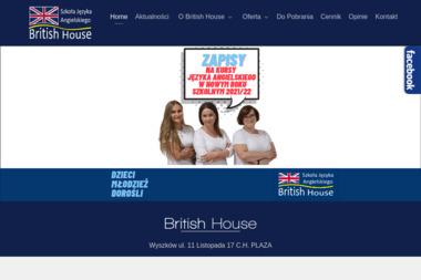 BRITISH HOUSE - Szkoła językowa Wyszków