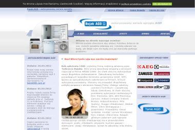 Firma BUJAK AGD - Naprawa drobnego sprzętu AGD Kraków