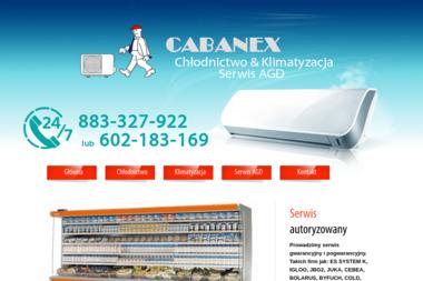 """Zakład Usługowo Handlowy """"CABANEX"""" - Klimatyzacja Ciechanów"""