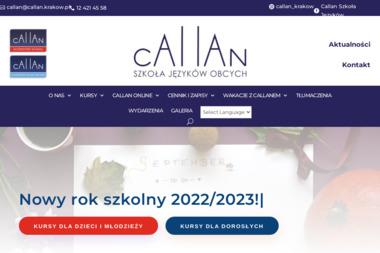 CAllAN Szkoła Języków Obcych - Nauczyciel Angielskiego Kraków