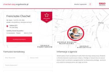 Franciszka Chochel Ergo Hestia - Polisy AC Żory