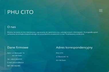 Agencja ubezpieczeniowa CITO - Ubezpieczenia na życie Śrem