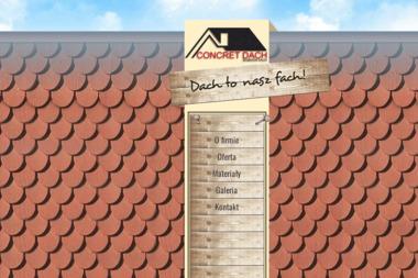 Concret Dach - Odśnieżanie Wiązów