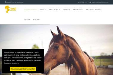 """Ośrodek Jeździecki """"Cwał"""" - Nauki Jazdy Konnej Truskolasy"""