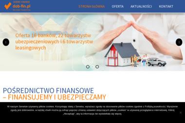 dob-fin.pl (Jarosław Śliwiński Pośrednictwo Finansowe) - Kredyt Przez Internet Zielona Góra