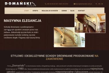 P.P.H.U Domański - Schody drewniane Częstochowa