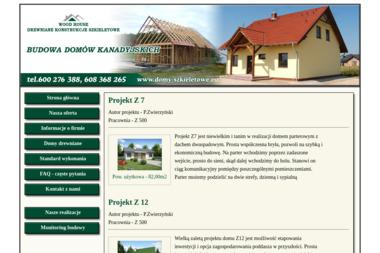 DREWNIANE KONSTRUKCJE SZKIELETOWE - Budowa Domów Szkieletowych Oborniki Śląskie