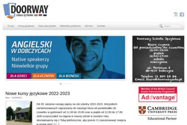 Szkoła Językowa Doorway - Szkoła językowa Dobczyce